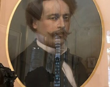 Alexandre Dumas fils- Pastel d'Antoine Jubien 1869