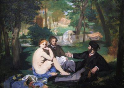 E.MANET- Etude pour le dejeuner sur lherbe-1863