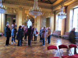 Galerie de Bal- Le groupe