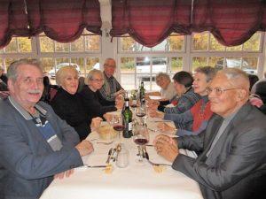 Pause déjeuner à l'Auberge du Mont St Pierre-2