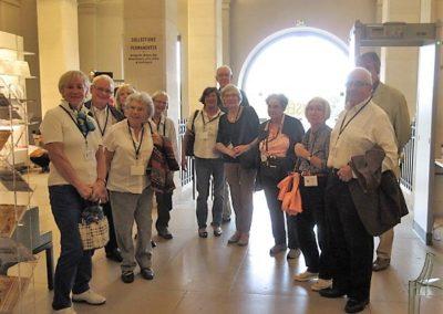 Le groupe SHRM avant la visite