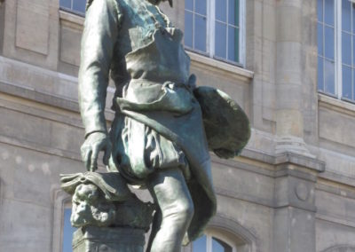 Statue de Bernard Palissy- détail