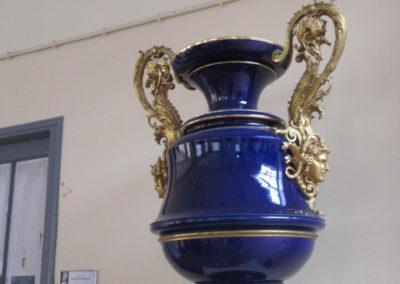Vase couleur bleu de Sèvres