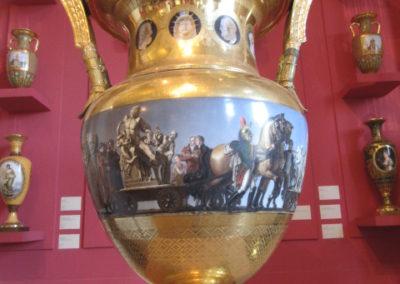 Vase Sèvres 1815- Arrivée à Paris des œuvres rapportées par l'Armée d'Italie