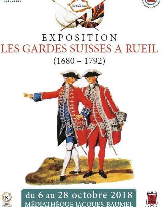 Exposition Les Gardes Suisses à Rueil