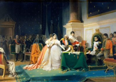 Le divorce de l'Impératrice Joséphine, le 15 décembre 1809, par Henri-Frédéric Schopin.