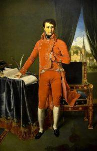 Bonaparte, Premier consul, par Jean-Auguste-Dominique Ingres.