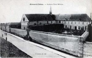 Bâtiment de l'ancienne école militaire de Brienne, aujourd'hui reconvertie en musée.