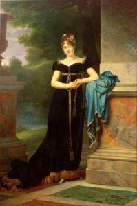 Portrait de la Comtesse Marie Walewska, la « femme polonaise » de Napoléon, en 1812 par François Gérard.