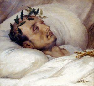 Napoléon sur son lit de mort, par Horace Vernet (1826).