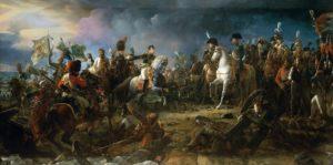 Le 2 décembre 1805 : La bataille d'Austerlitz, par François Gérard.