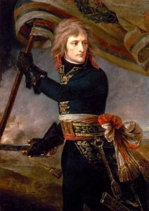 Bonaparte au pont d'Arcole, par Antoine-Jean Gros (ca. 1801), musée du Louvre, Paris.