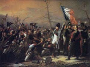 Le ralliement du 5e d'infanterie de ligne à l'Empereur, le 7 mars 1815.