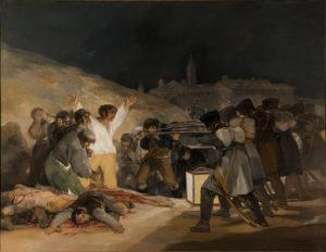 Le Tres de mayo, par Goya.