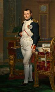 Napoléon dans son cabinet de travail 1812 par David.