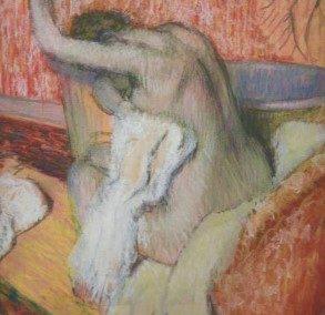 E. DEGAS- Apres le bain, Femme se sechant -1895-1900
