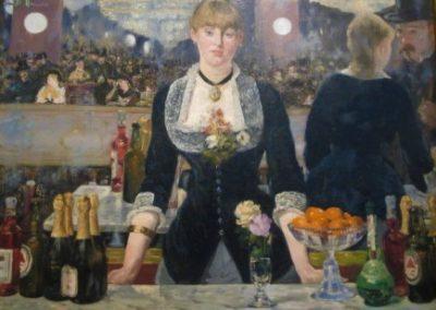 E. MANET-Un bar aux Folies-Bergeres-1882