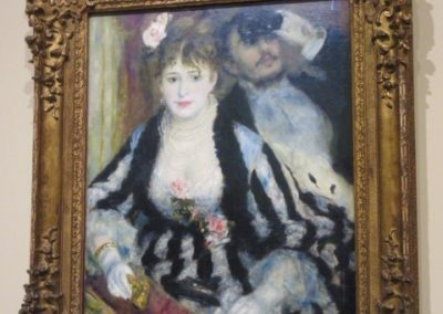P.-A. RENOIR- La Loge-1874
