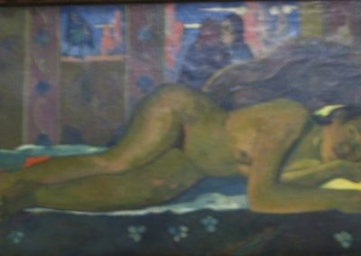 P. GAUGUIN- Nevermore-1897