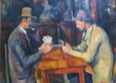 P.CEZANNE- Les joueurs de cartes-1892-1896