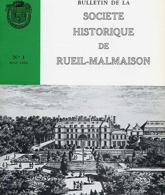 Bulletin N°1 Epuisé