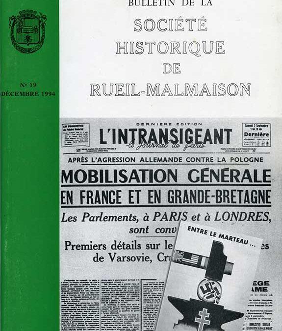 Bulletin N°19