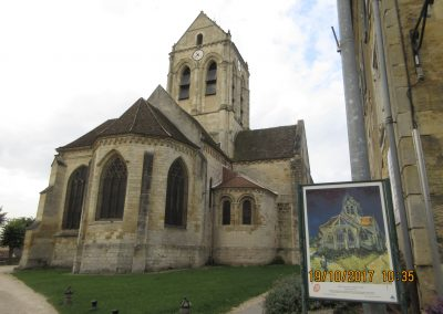 L'EGLISE d'AUVERS