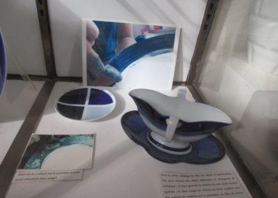 Les différents Bleus de Sèvres obtenus à partir d'oxyde de cobalt