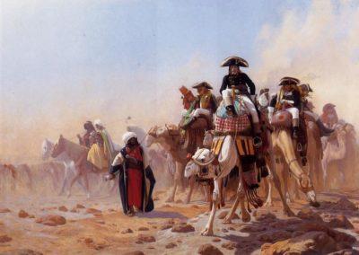 Napoléon et ses généraux en Égypte, Jean-Léon Gérôme, 1867