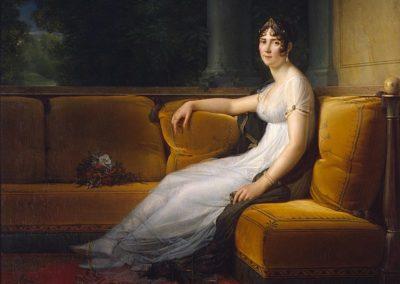 Josephine de Beauharnais - premier grand amour de Napoleon.